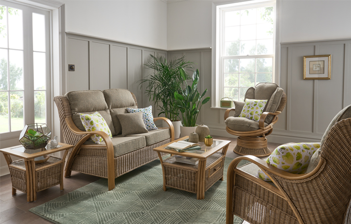 Cane Furniture - Only at Stonham Barns - Daro - Waterford Range in Natural Wash