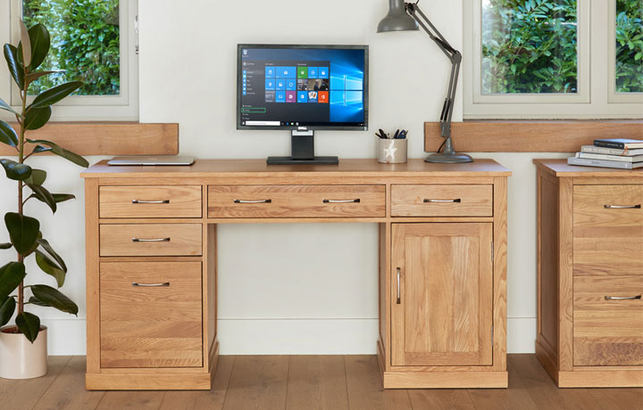 Oak Furniture Collections - Home Office Furniture Ranges (Web Exclusive)