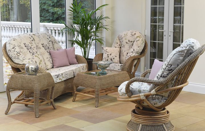 Cane Furniture - Only at Stonham Barns - Daro - Wexford Range in Natural Wash