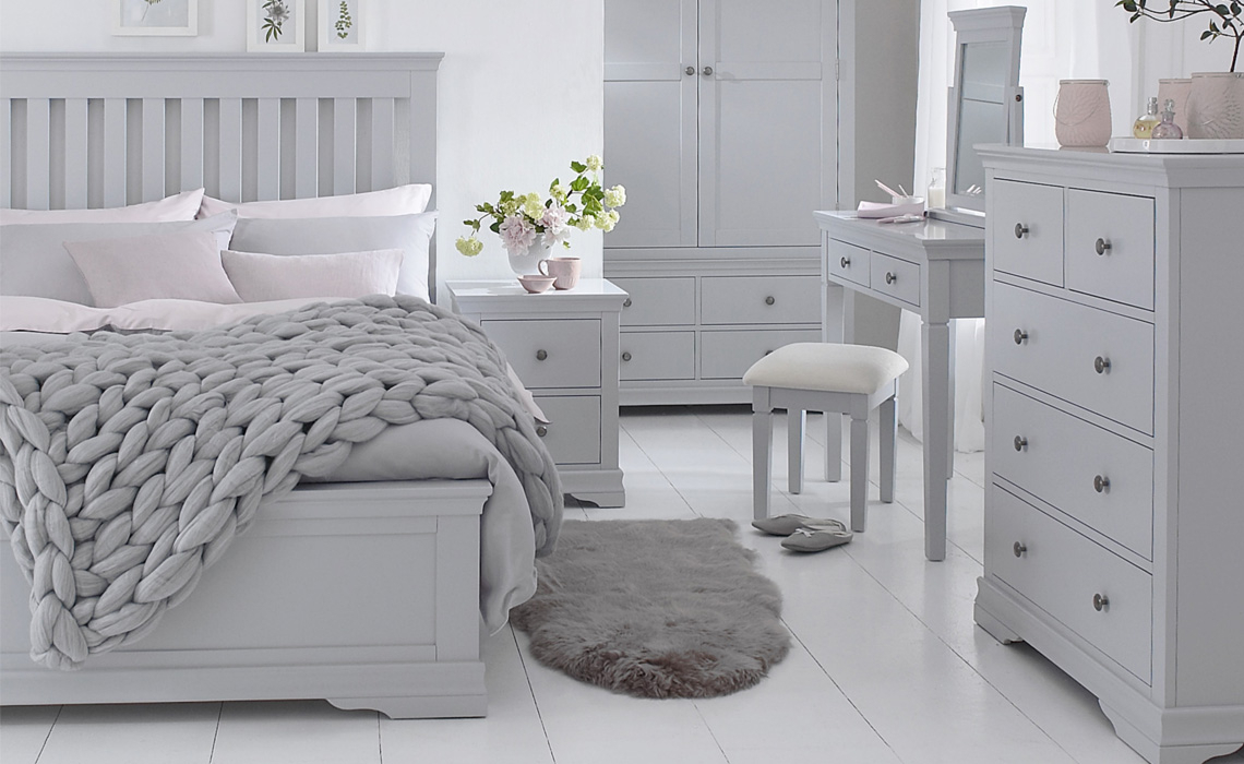 Painted Furniture Collections - Salthouse Grey Painted Bedroom Collection
