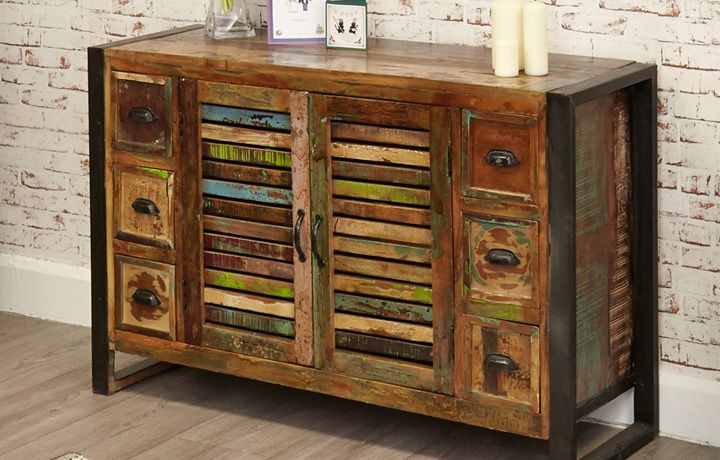 Painted Furniture Collections - The Mali Reclaimed Collection