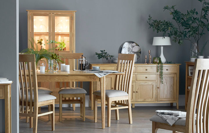 Oak Furniture Collections - Odense Oak Furniture Collection