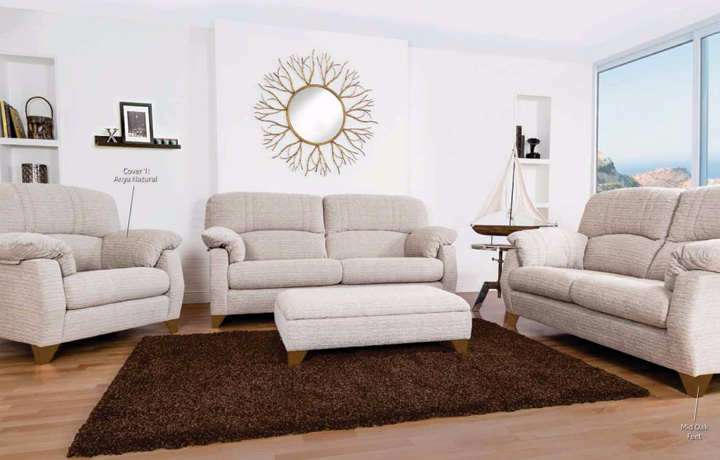 Sofas, Chairs & Corner Suites - Aiden Collection