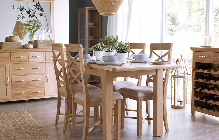 Oak Furniture Collections - Glemham Oak Furniture Collection