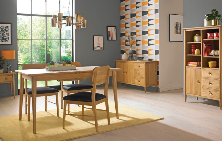 Oak Furniture Collections - Nordic Solid Oak Collection