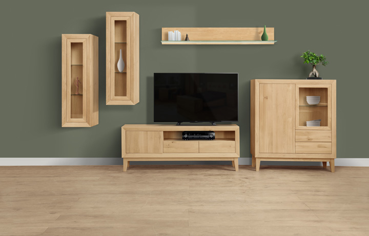 Oak Furniture Collections - Sigala Oak Collection