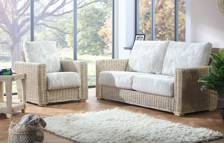 Cane Furniture - Only at Stonham Barns - Burford Rattan Range in Natural Wash