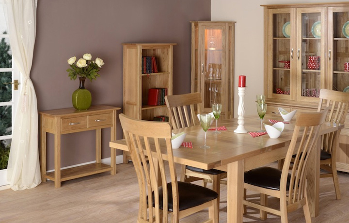 Oak Furniture Collections - Woodford Oak Collection