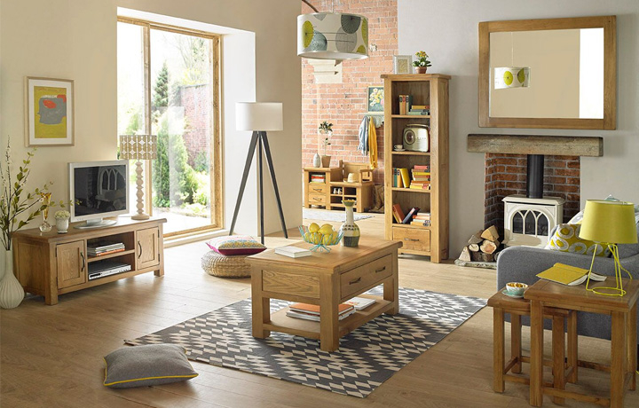 Oak Furniture Collections - Hollywood Oak Furniture Collection