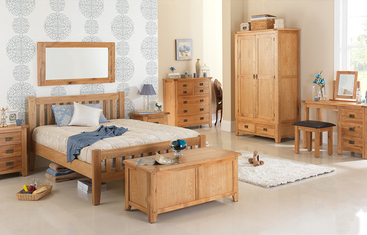 Oak Furniture Collections - Knebworth Rustic Oak Collection