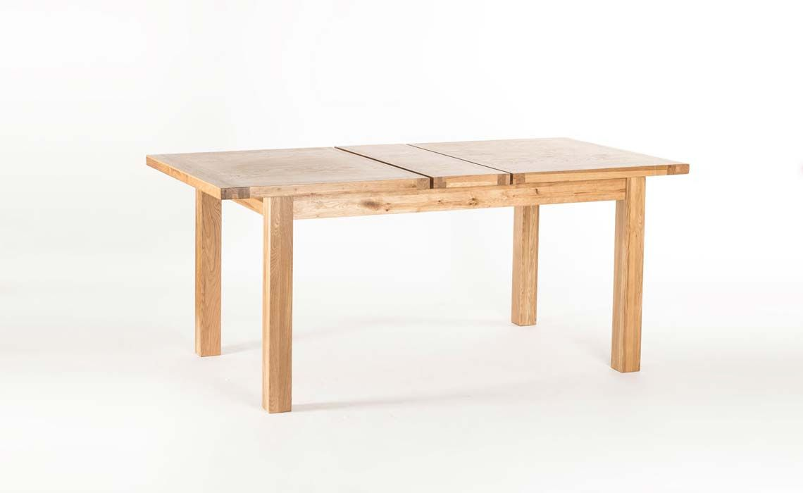 York Oak Dining Table 150x90cm Twin Leaf Extending  : 3674 3 from www.harpersfurniture.co.uk size 1140 x 700 jpeg 31kB