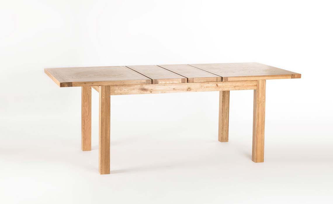 York Oak Dining Table 150x90cm Twin Leaf Extending  : 3674 4 from www.harpersfurniture.co.uk size 1140 x 700 jpeg 33kB