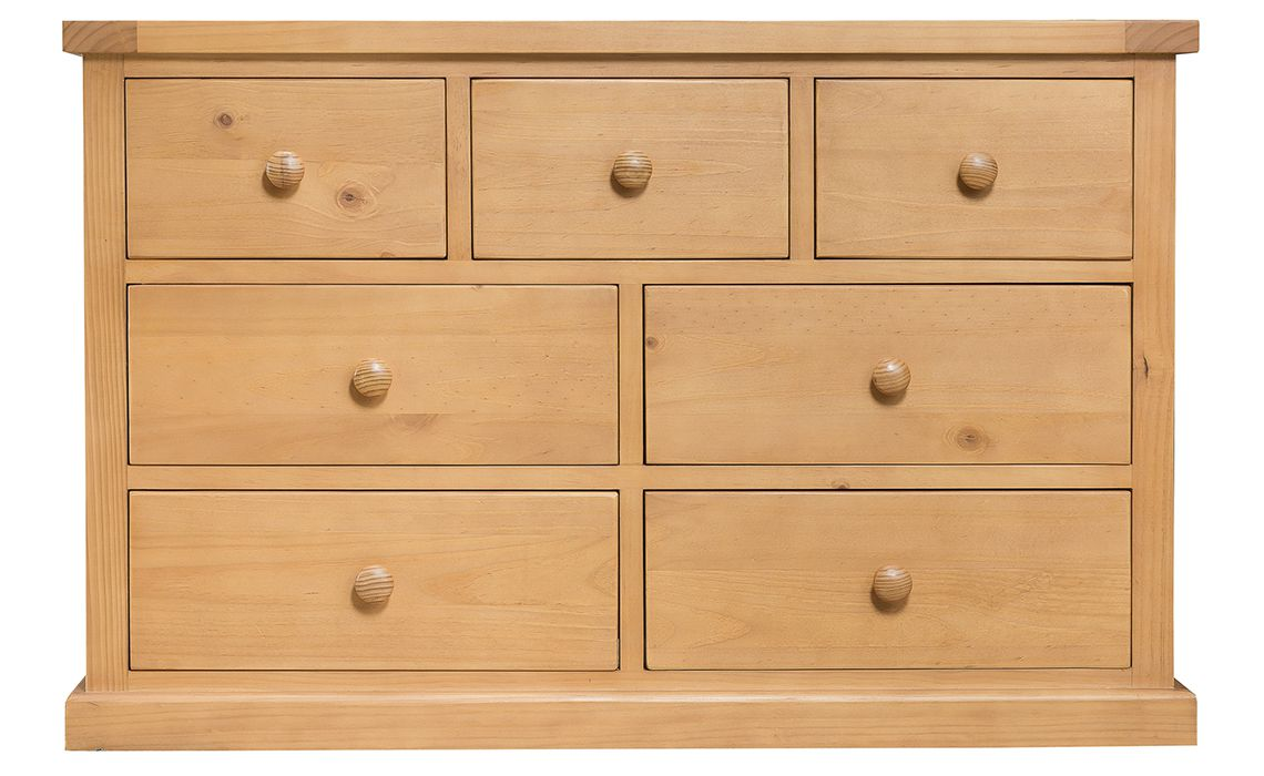 Country Pine Bedroom 3 Over 4 Chest Of Drawers Solid Pine Suffolk Essex Norfolk