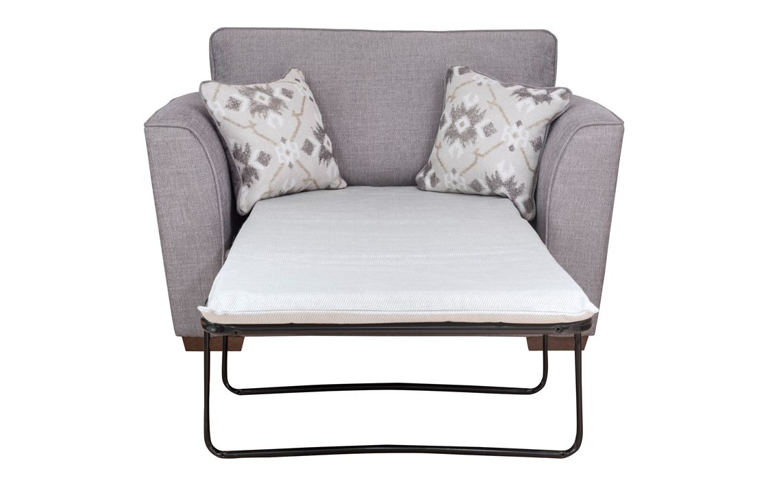 80cm aylesbury sofa bed chair bed with deluxe mattress