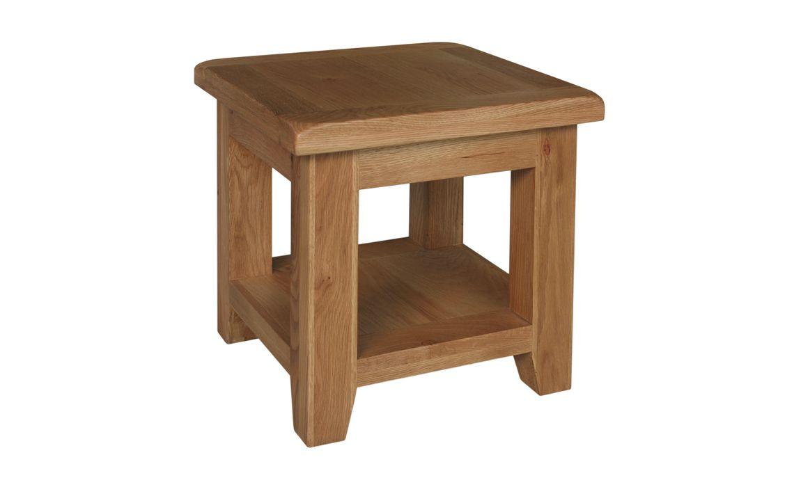 Sussex rustic oak lamp table rustic oak ipswich stonham sussex rustic oak lamp table aloadofball Images