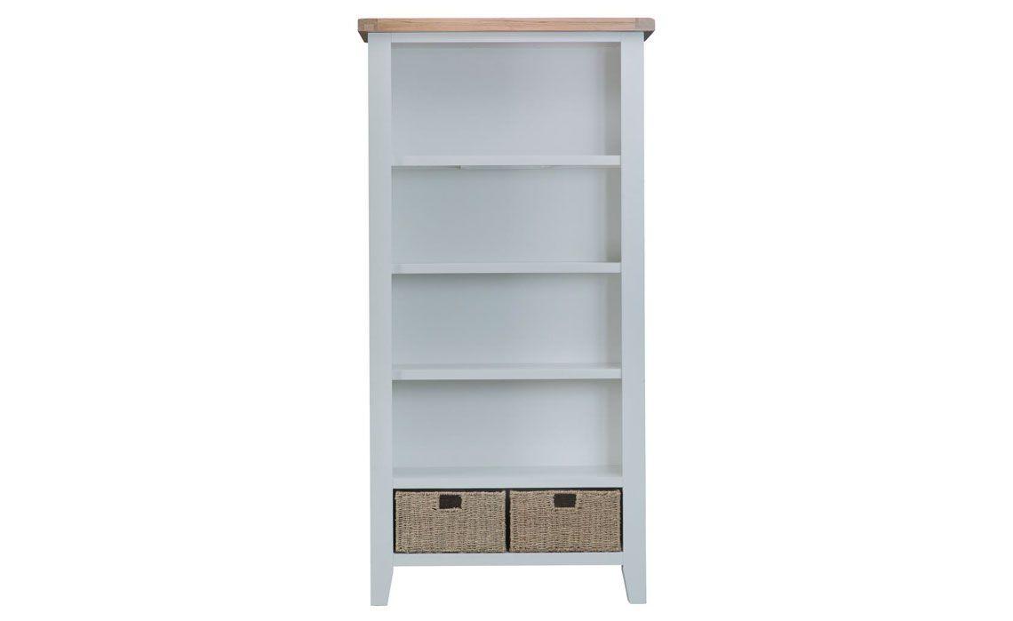 Regency Grey Painted Large Bookcase
