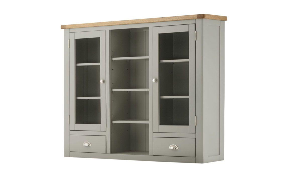 Pembroke 3 Door Dresser Top   Stone