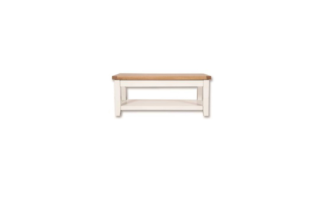 Henley White Painted Coffee Table