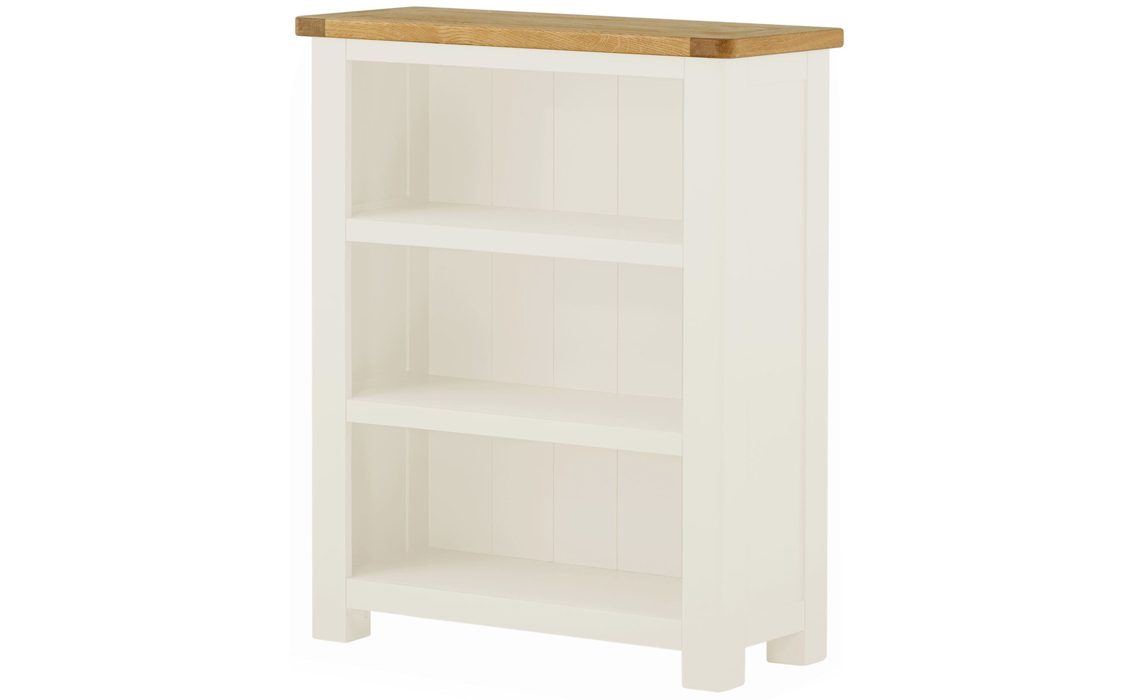 Pembroke White Painted Small Bookcase