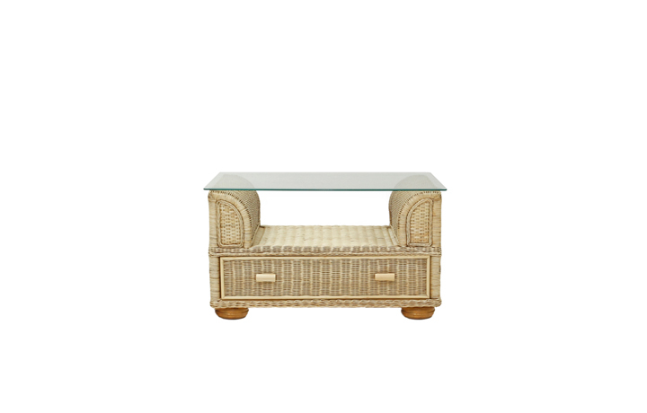 Daro - Toronto Range in Natural Wash - Toronto Coffee Table with Drawer