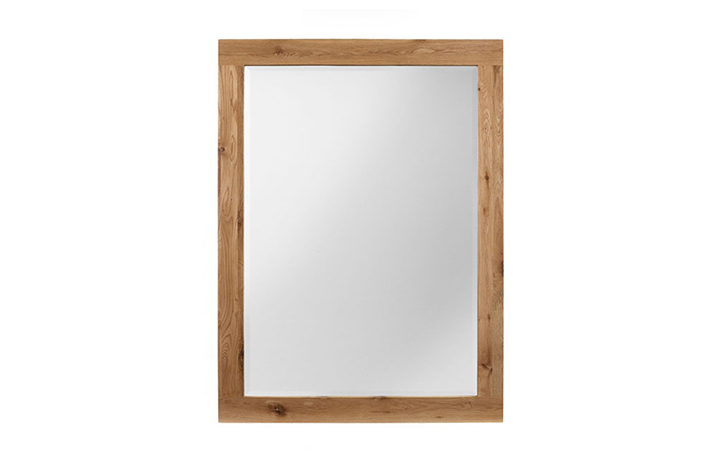 mirrors - York Oak M1 24x27in Oak Mirror