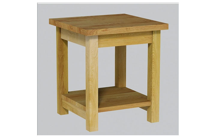 coffee-tables - Classic Oak - Living - Table - Small Lamp Table (40mm)