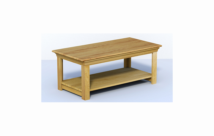 Coffee Tables - Chambery Oak Table Large Coffee Table