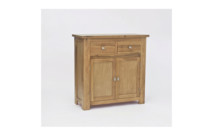 Pacific Oak Furniture Range (Web Exclusive) - Pacific Oak Mini Sideboard 2 Drawer 2 Door