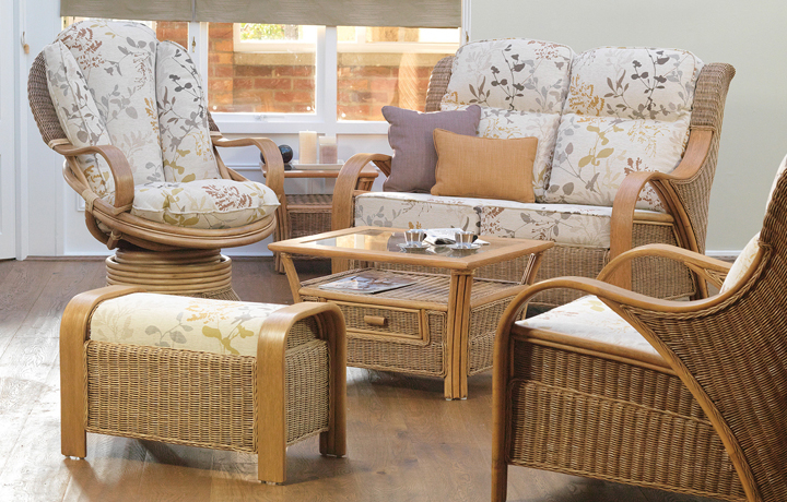Daro - Waterford Range in Natural Wash - * Waterford 3 Piece Suite (Sofa plus 2 Armchairs)