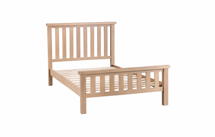 Bed Frames - 6ft Burford Oak Kingsize Bed Frame