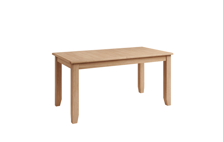 Dining Tables - Columbus Oak 160-200cm Butterfly Extending Table