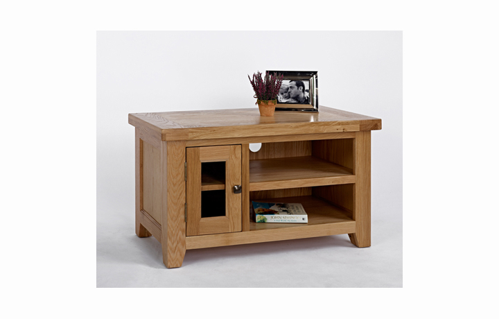 Devon Oak Furniture Range (Web Exclusive) - Devon Oak Small TV Unit
