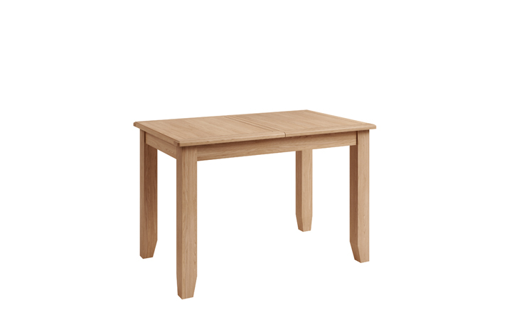 Dining Tables - Columbus Oak 120-160cm  Butterfly Extending Table