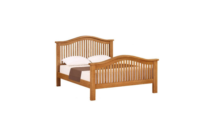 Bed Frames - Banbury Oak 4ft6in Double Bed