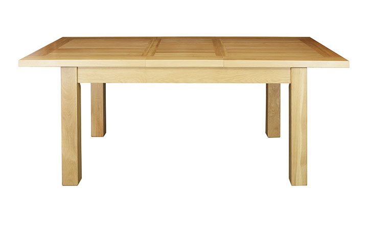 Dining Tables - Suffolk Solid Oak 150-196cm Extending Dining Table