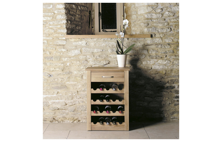 Pacific Oak Furniture Range (Web Exclusive) - Pacific Oak Wine Rack Lamp Table