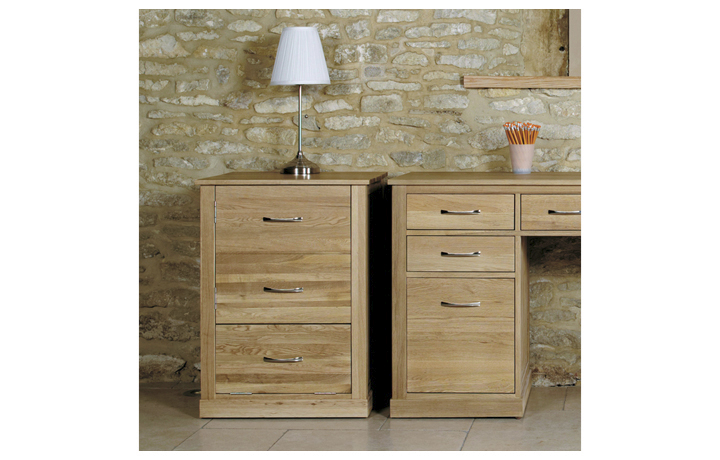 Office Furniture - Home & Office Oak  Printer Cupboard