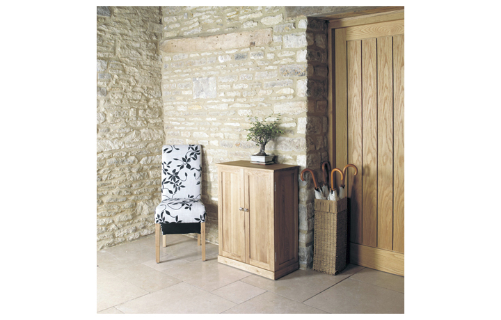Pacific Oak Furniture Range (Web Exclusive) - Pacific Oak Shoe Cupboard