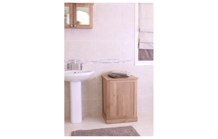 Pacific Oak Furniture Range (Web Exclusive) - Pacific Oak Laundry Bin
