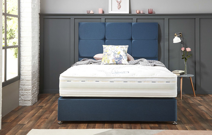 6ft Super King Mattress & Divan Bases - 6ft Super King Nautilus 1000 Pocket Spring With Zero Gravity Technology