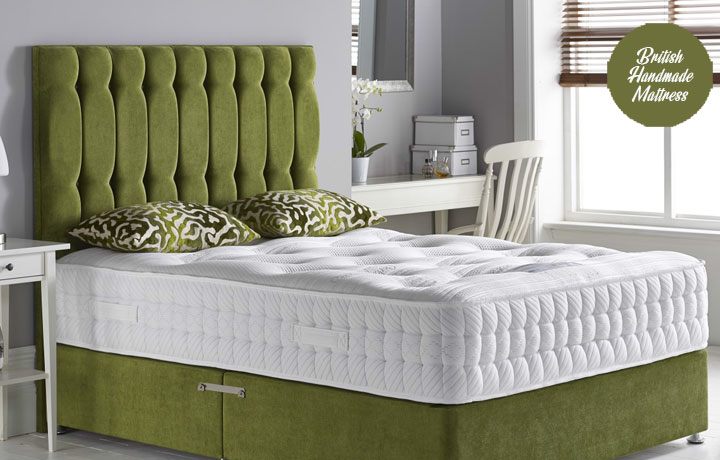 5ft King Size Mattress & Divan Bases - 5ft King Size Surrey 2000 Pocket Spring Luxury Mattress