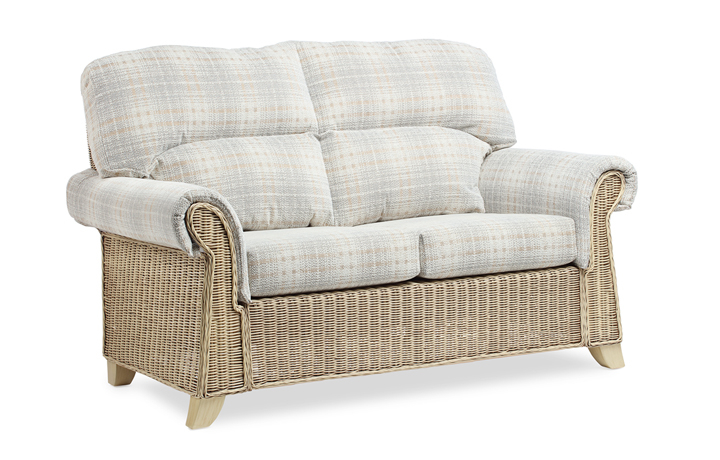 Clifton Cane Range in Natural Wash - Clifton 2 Seat Cane Sofa