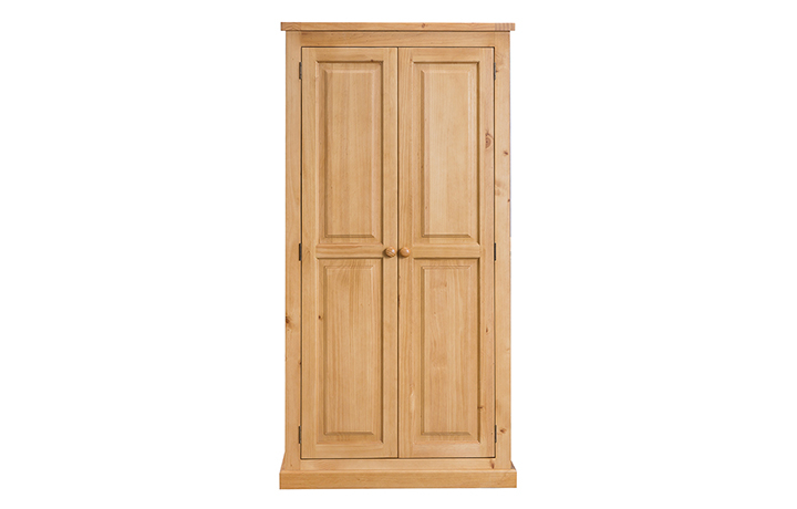 Country Pine - Country Pine Double Full Hanging Wardrobe