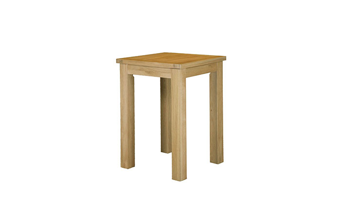 Suffolk Solid Oak Furniture Range - Suffolk Solid Oak Large Square Bar Table