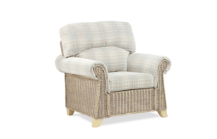 Clifton Cane Range in Natural Wash - Clifton Cane Armchair