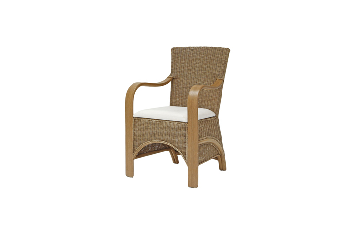 Daro - Waterford Range in Natural Wash - Waterford Carver Dining Chair
