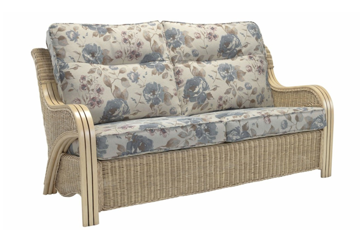 Opera Range in Natural Wash - Opera 3 Seat Sofa