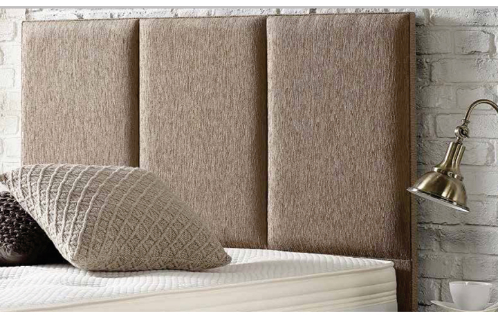 6ft Headboard Range - 3 Panel Upholstered Headboard