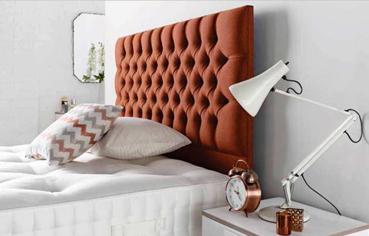6ft Headboard Range - Chesterfield Floor Standing Headboard