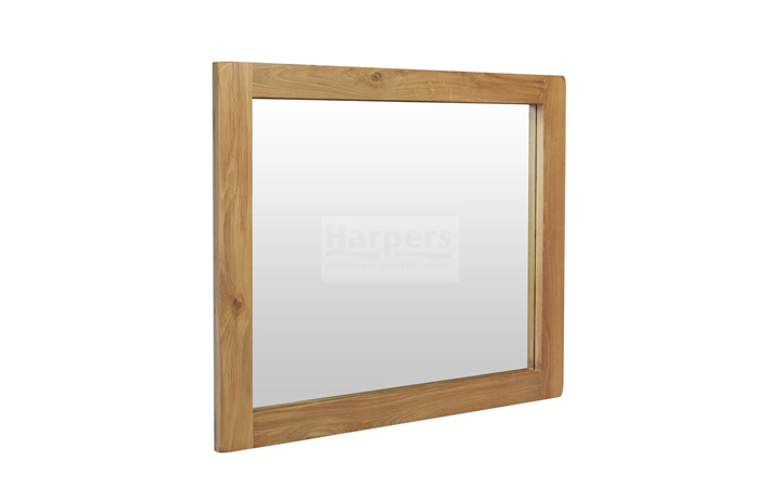 Essex Rustic Oak Furniture Range - Essex Rustic Oak - Living - Mirror - Wall Mirror